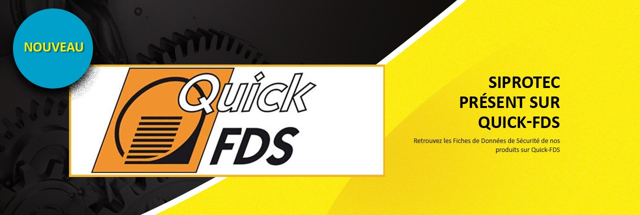 FDS disponibles sur QUICK FDS