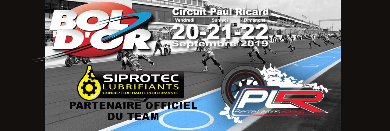 SIPROTEC partenaire officiel du Team PLR